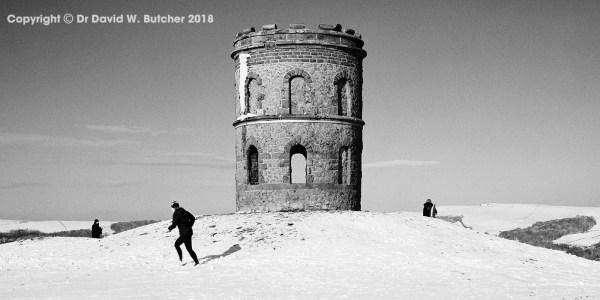 Buxton Solomon's Temple in Winter