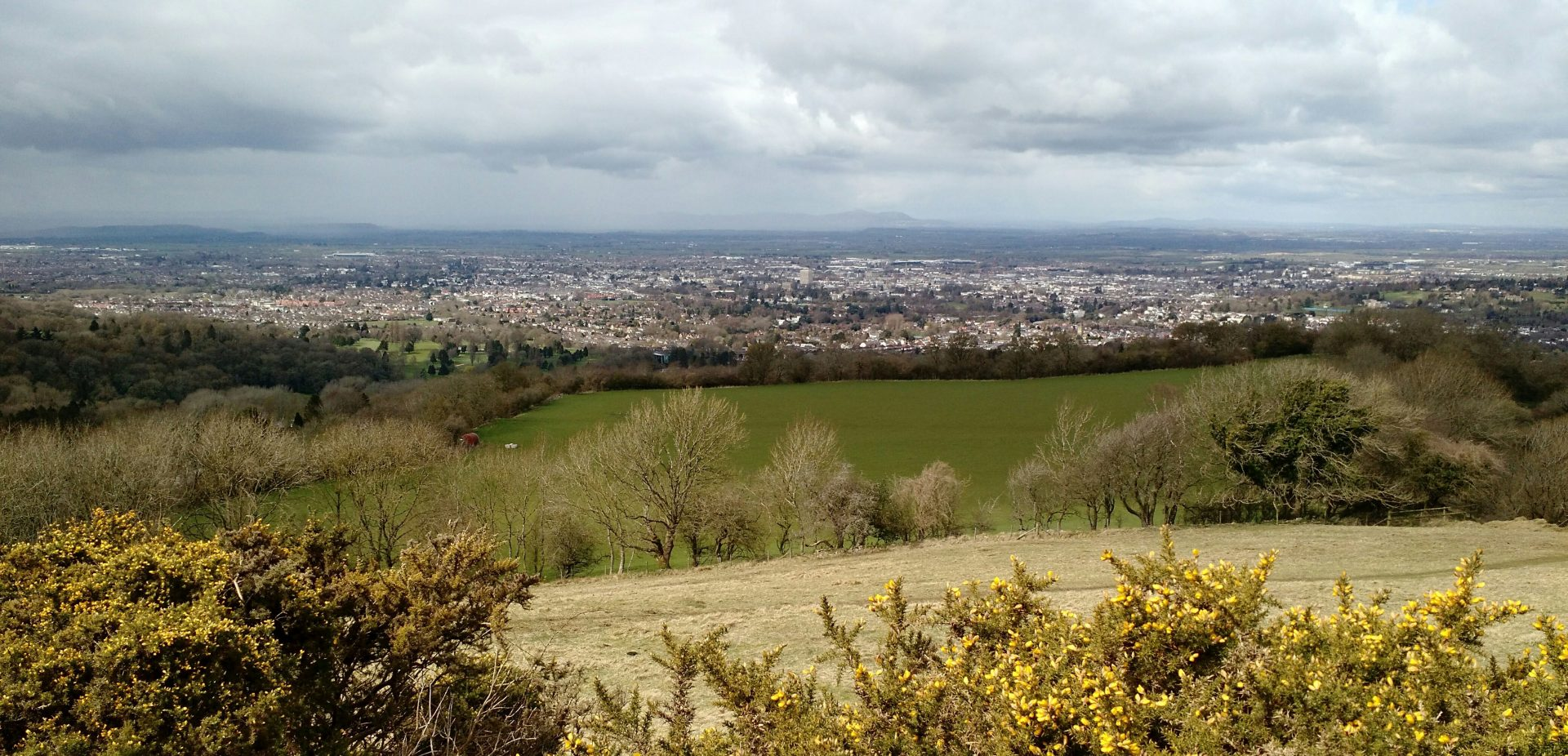 Cheltenham from East, Cotswolds