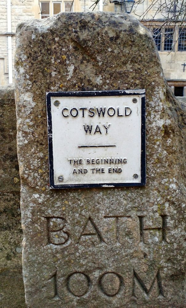 Cotswold Way Start in Chipping Campden