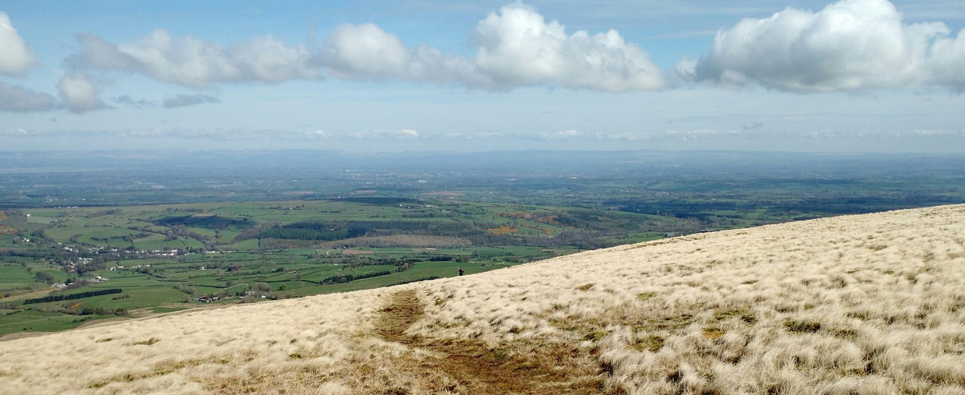View North from Ascent of High Pike, Caldbeck