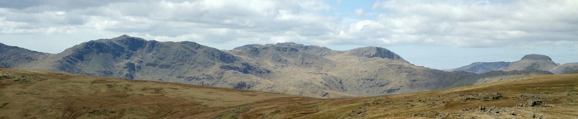 Bowfell to Great Gable from Langdales