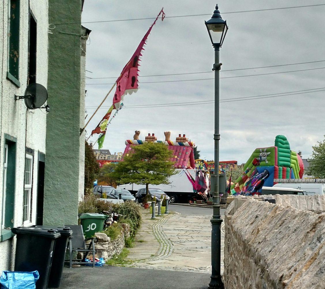 Ulverston Cumbria Way Final Few Yards