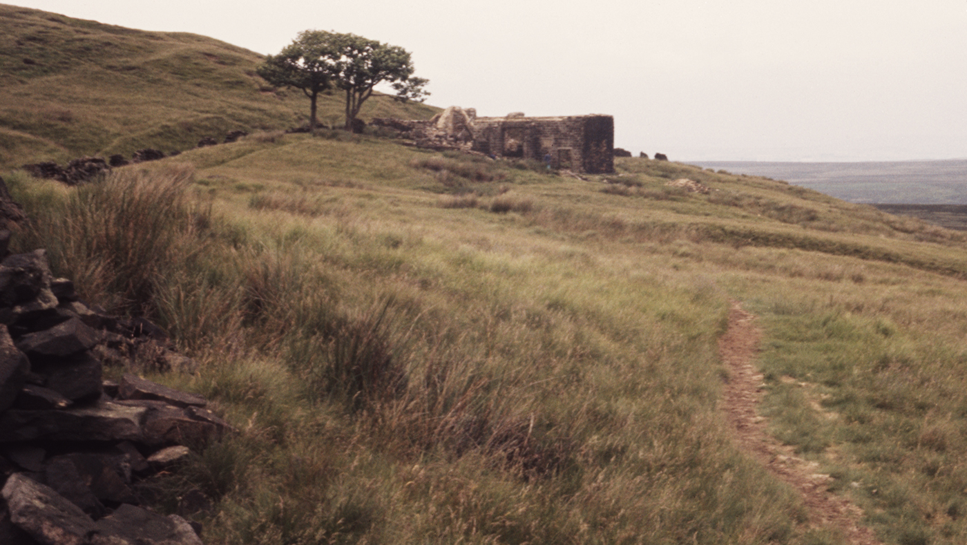 Withins Ruins above Haworth