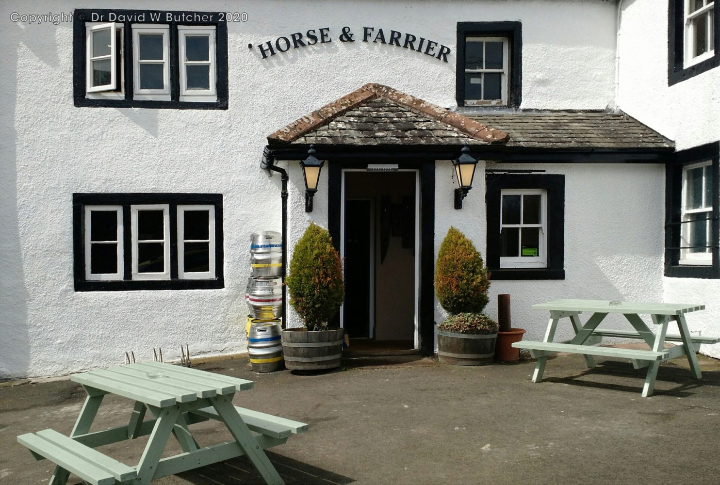 Dacre Horse and Farrier, near Pooley Bridge, Lake District
