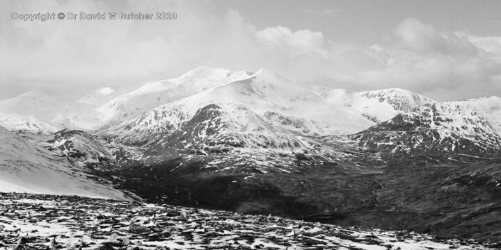 Grey Corries from Stob a' Choire Mheadhoin, Fort William, Scotland