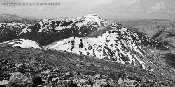 Sgurr nan Coireachan from Sgurr Thuilm, Glenfinnan, Scotland