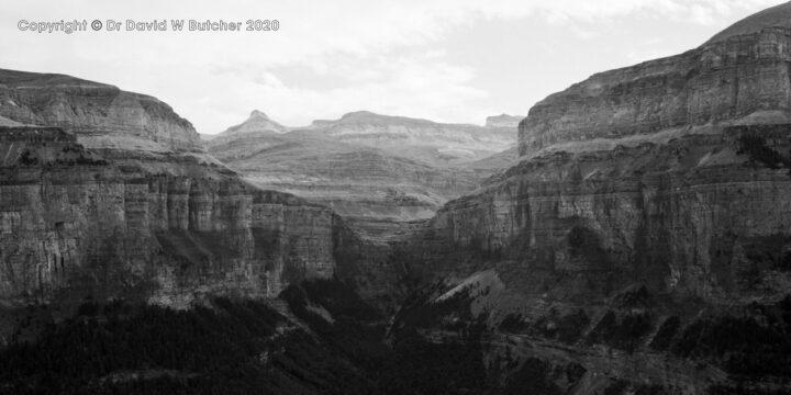 Ordesa Gorge View North, Torla, Pyrenees