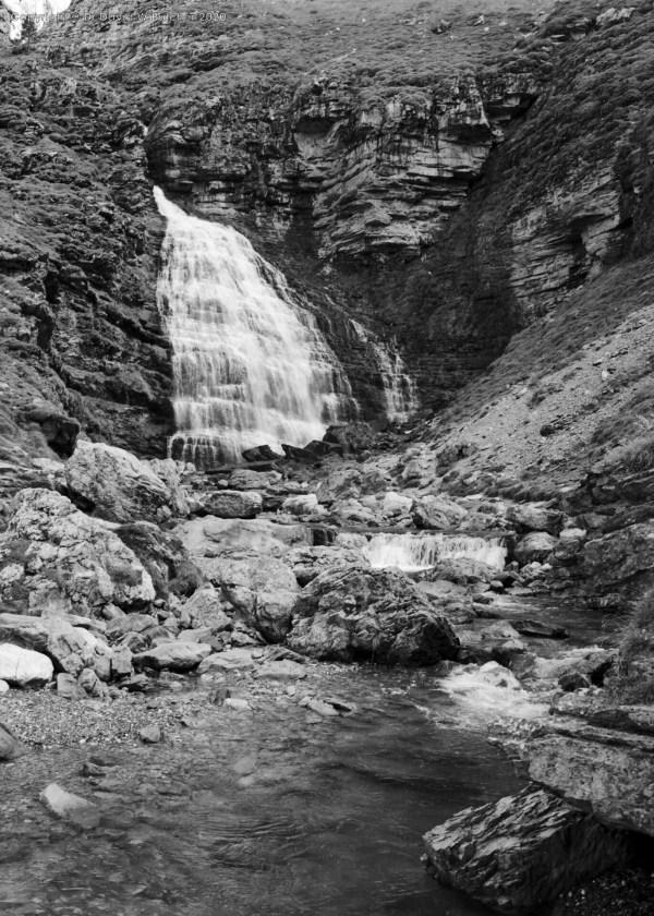 Ordesa Gorge Mares Tail Falls, Torla, Pyrenees