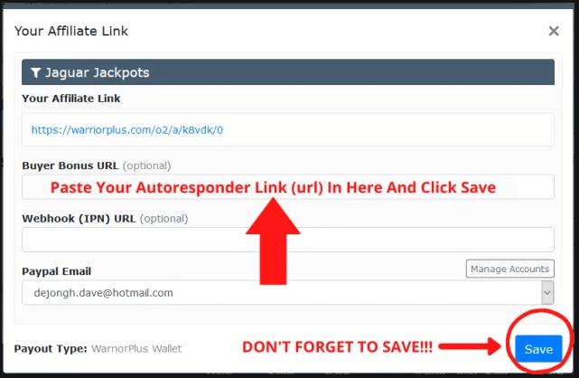 How To Use Warrior Plus - Buyer Bonus URL