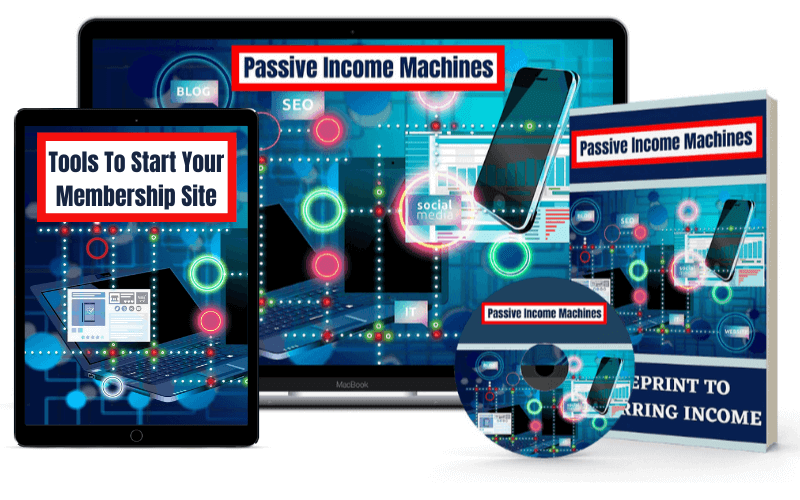 Monthly Income System Review - Bonus 1 Passive Income Machines + Tools
