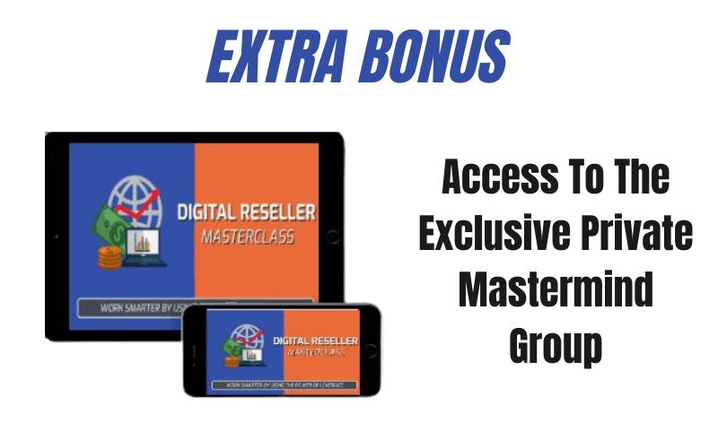 Digital Reseller Masterclass Review - Vendor Bonus