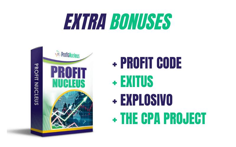 Profit Nucleus Review - Vendor Bonuses