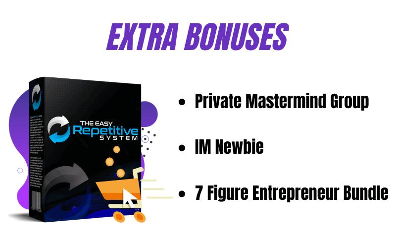 The Easy Repetitive System Review - Vendor Bonuses