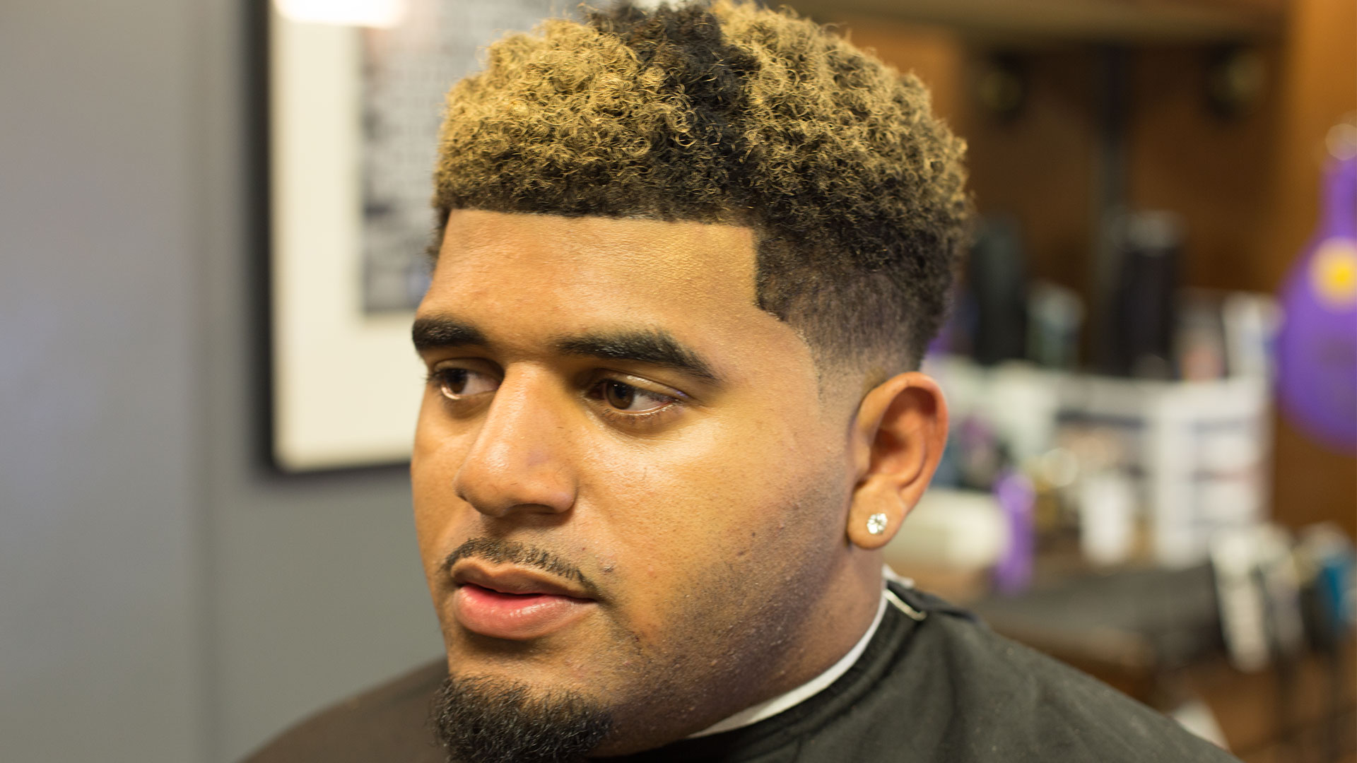 NuDred Low Fade W Blond Coloring Dave Diggs Online