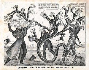 Jackson slays the many-headed monster