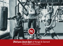 Hard Candy Fitness Toronto – TTC Ad Campaign Launch