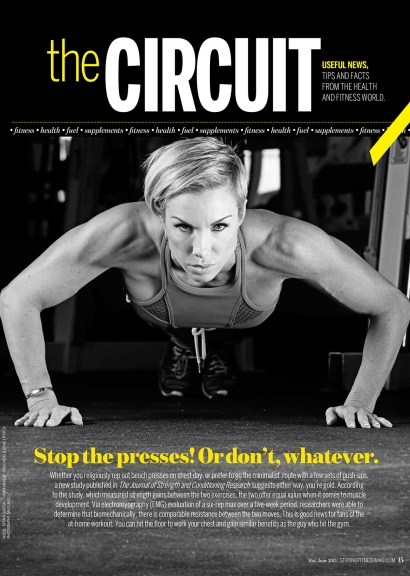 Tiffany Gaston STRONG Fitness Magazine