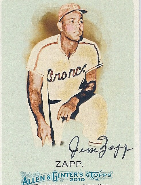 2011 Jim Zapp signed Allen and Ginter