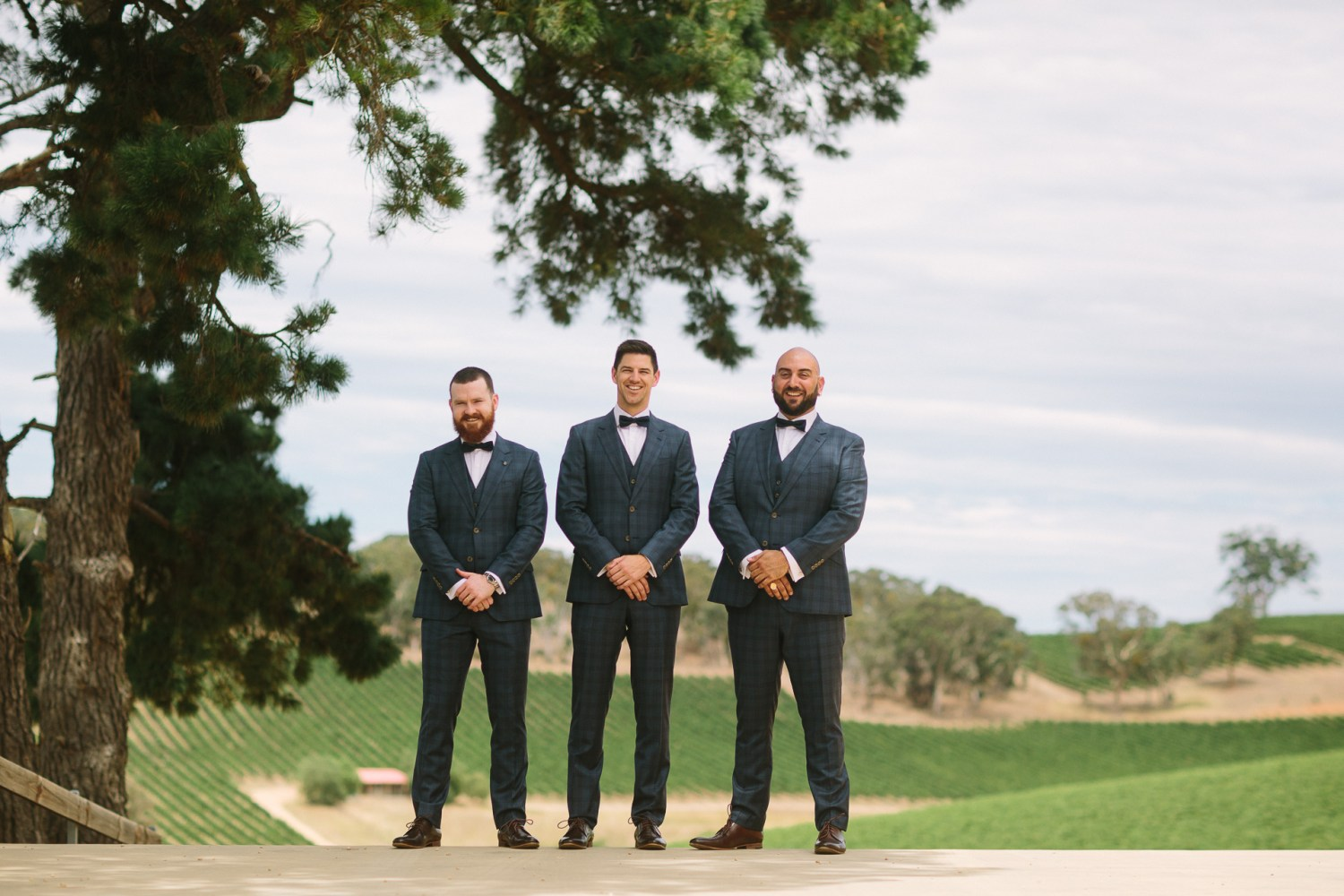 longview winery wedding, groomsmen dapper suits