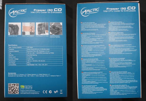 Arctic Cooling Freezer i30 CO