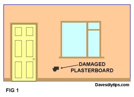 DAMAGED PLASTERBOARD / DRYWALL