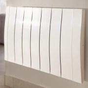 Wall mounted electric radiator