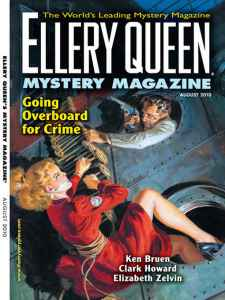 Ellery Queen Mystery Magazine, Aug. 2010 cover