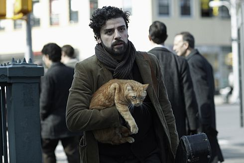 orange cat inside llewyn davis