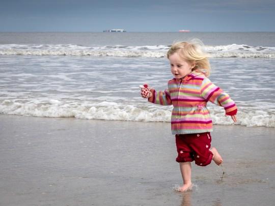ruby knadler at the beach