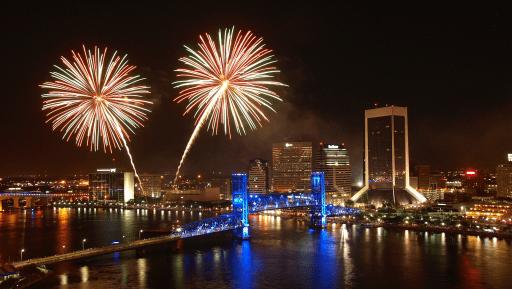 st. john's fireworks show jacksonville