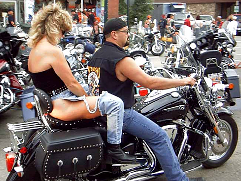 couple on a harley