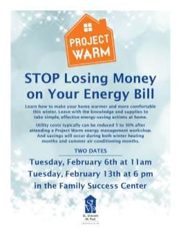 FSC Project Warm flyer
