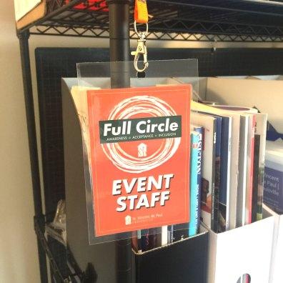 Full Circle Event Staff Badge