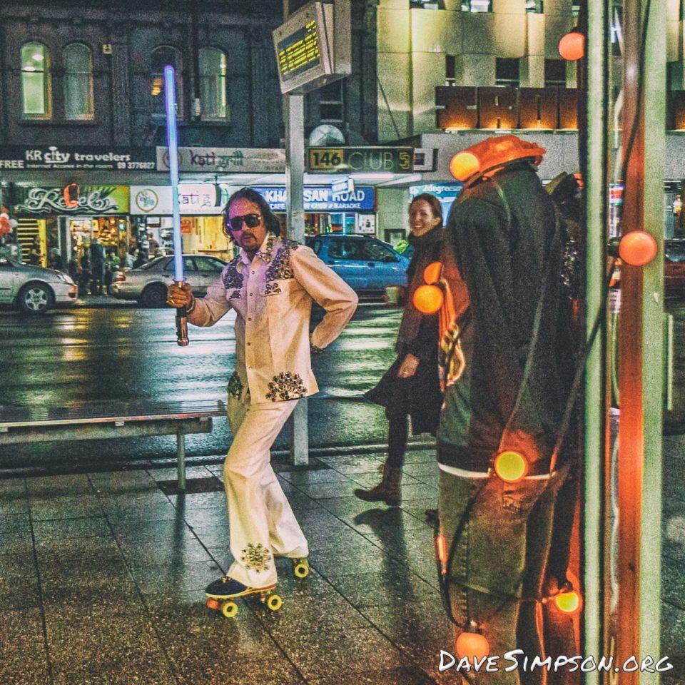 First Thursday - Roller Skater (4 of 12)