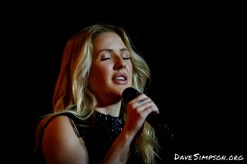 Ellie Goulding live at the Vector Arena, Auckland