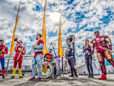 Superhero Second Line live at Neck Of The Woods, Auckland 4 November 2016