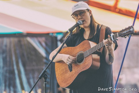 Nadia Reid at Silo Park, Auckland 28 January 2017