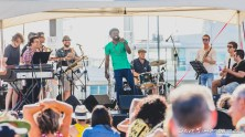 Ijebu Pleasure Club live at Silo Park, Auckland 11 February 2017