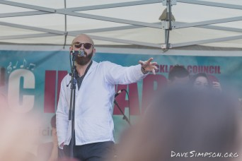 Sal Valentine And The Babyshakes live at the Myers Park Medley 26 February 2017