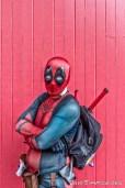 Deadpool walk around the Wynyard Quarter 24 March 2017