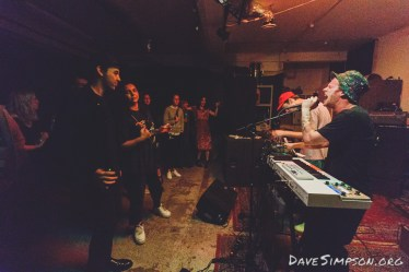 Ghost Wave live at the Wine Cellar, Auckland 13 April 2017