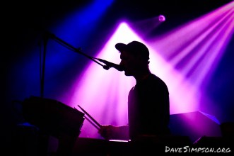 The Kite String Tangle live at the Town Hall, Auckland, New Zealand supporting Odesza 14 September 2017
