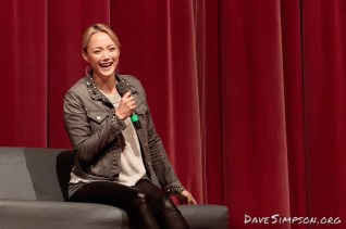 Pom Klementieff of Guardians of the Galaxy at Armageddon Expo Auckland 21 October 2017