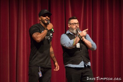Ricky Whittle of The 100/American Gods at Armageddon Expo Auckland 21 October 2017