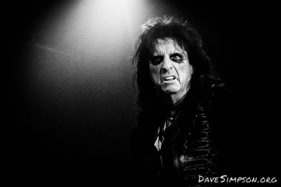 Alice Cooper live at the Trusts Arena, Auckland