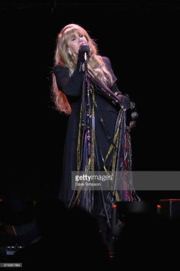 AUCKLAND, NEW ZEALAND - NOVEMBER 21: Singer Stevie Nicks performs on stage during her 24 Karat Gold Tour at Spark Arena on November 21, 2017 in Auckland, New Zealand. (Photo by Dave Simpson/WireImage)