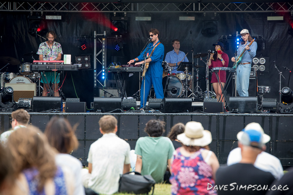 AUCKLAND, NEW ZEALAND - DECEMBER 31: The Ruby Suns perform at Wondergarden 2017 New Year's Eve festival at Silo Park, Auckland on December 31, 2017 in Auckland, New Zealand. (Photo by Dave Simpson Photography Ltd)