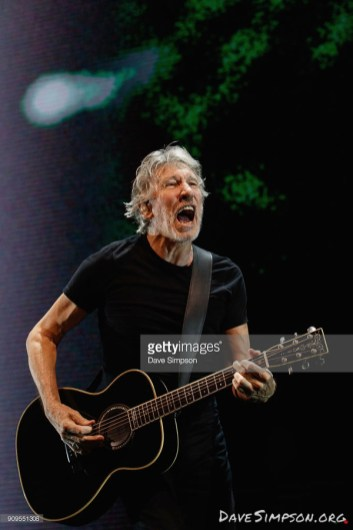 AUCKLAND, NEW ZEALAND - JANUARY 24: Roger Waters performs in concert during the 'Us + Them' tour at Spark Arena on January 24, 2018 in Auckland, New Zealand. (Photo by Dave Simpson/WireImage)