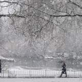 Snow St James Park London