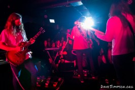 Makeshift Parachutes single release party 6 May 2018 at Neck Of The Woods, Auckland, New Zealand